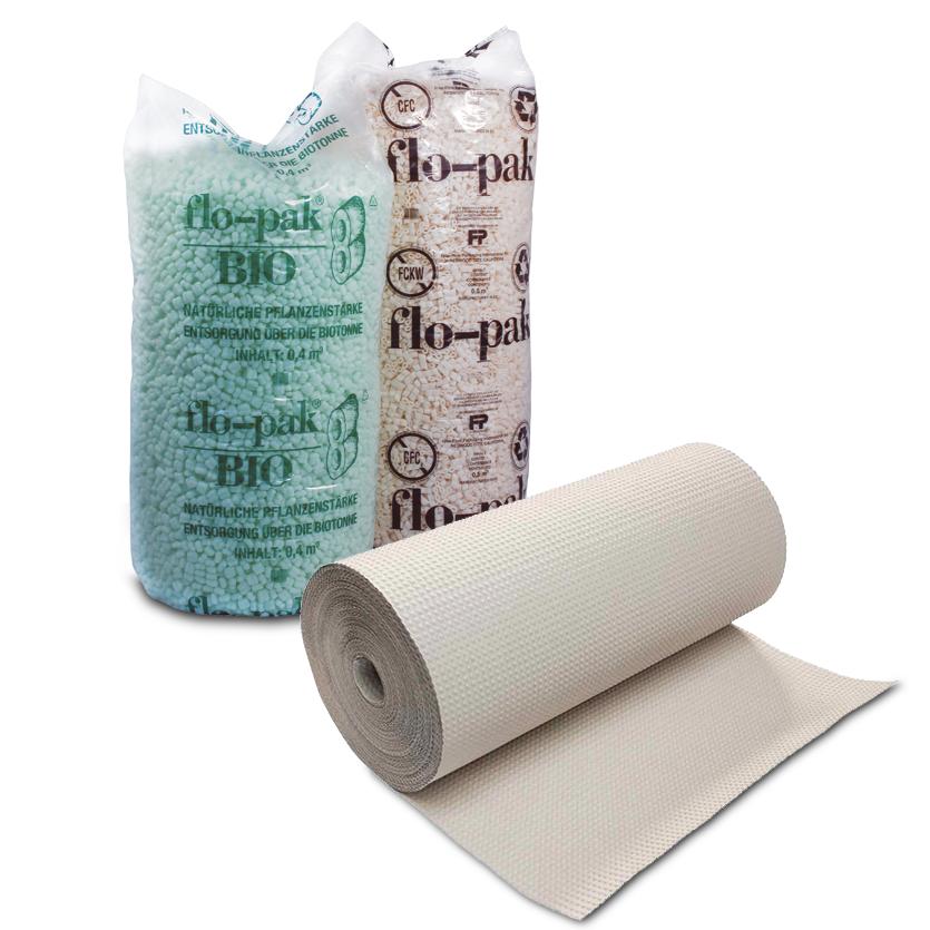 Füllmaterialien & Papiere