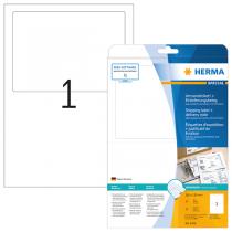 HERMA 8316 Versandetikett + Einlieferungsbeleg, A4,182x130 Inhalt…