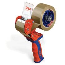 tesa® 6400 Handabroller, rot-blau