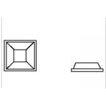 3M™ SJ 5307 Bumpon™ selbstklebende Elastikpuffer, transparen
