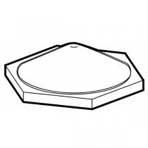 3M™ SJ 6553 Bumpon™ selbstklebende Elastikpuffer, transparen