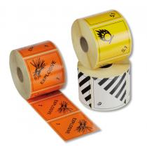 Gefahrgut-Etiketten