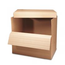 Palettencontainer, wahlweise mit Deckel