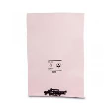Pink Poly ESD-Beutel, mit Zippverschluss