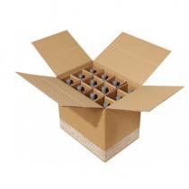 SYSTEMA L Flaschenversandkartons für 0,70/0,75/1,00 l