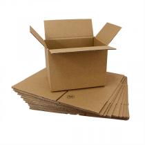 Graspapier-Kartons, einwellig