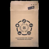 Papierversandtaschen Recycling