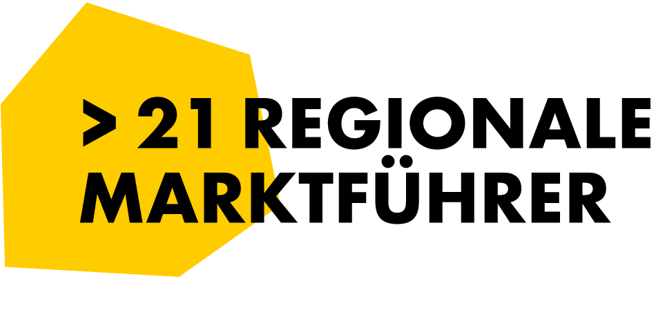 21 regionale Marktführer