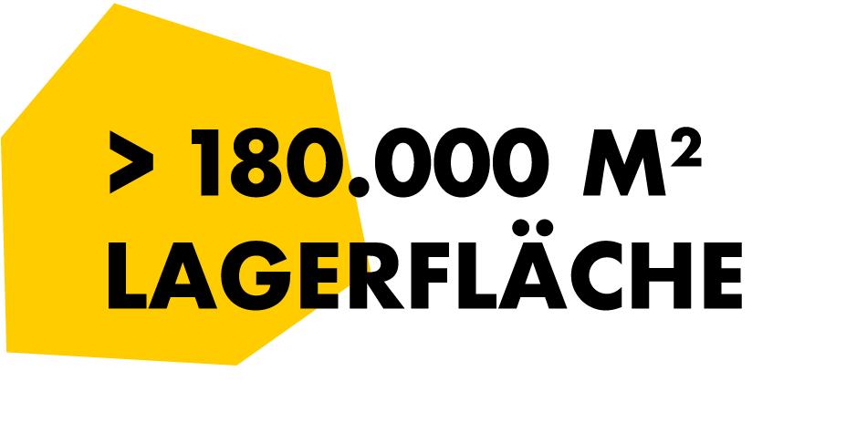 1800 m2 Lagerfläche