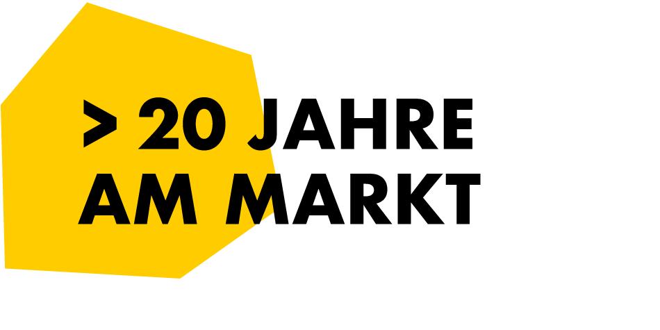 20 Jahre am Markt