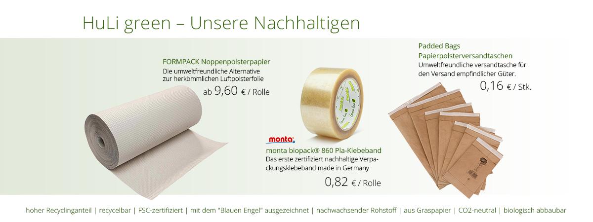 HuLi green Produkte