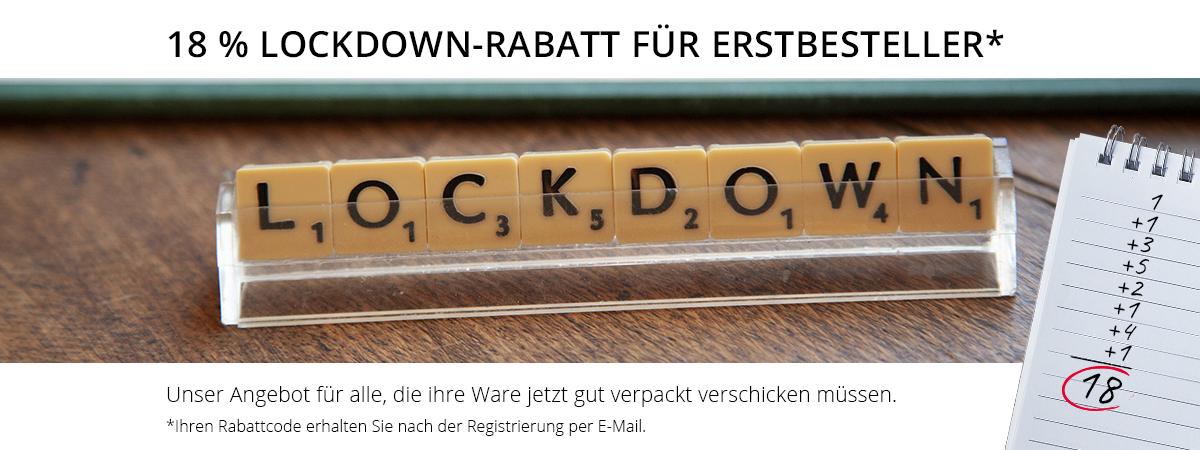 18 % Lockdown-Rabatt