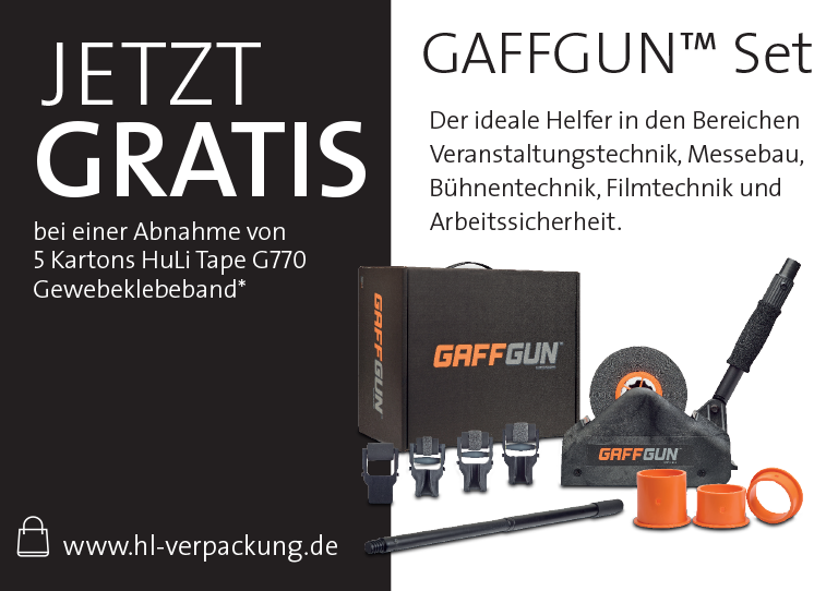 Gaffgun-Set gratis